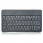Ultra-Thin Bluetooth V2.0 Wireless 80-Key Keyboard for Iphone/Ipad/Windows Mobile Phone - Black