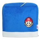 Multifunction Super Mario Pattern USB Plush Hand Warmer Mouse Pad Mat - Blue
