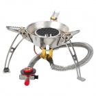 Portable Folding 3500W Camping Butane Gas Infrared Stove w/ Carrying Bag