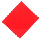 Square Resin Full Color Filter for DSLR - Red