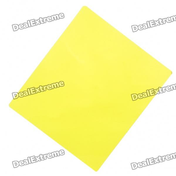 Square Resin Full Color Filter for DSLR - Yellow