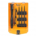 Professional 9-in-1 Precision Maintenance Tool Screwdriver Set - Black