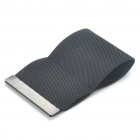 Fashion Convenient Elastic Contracted Purse Card Bag - Black