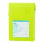 "Mukii USB 2.0 Protective Plastic Case w/ Adapter Set for 3.5"" HDD Hard Disk Drive - Green"