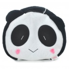 Cute Panda Style USB Plush Hand Warmer Mouse Pad Mat - Black + White