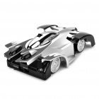 Iphone/Ipod Touch/Ipad Controlled USB Rechargeable RC 2-CH Wall Climbing Race Car - Silver + Black