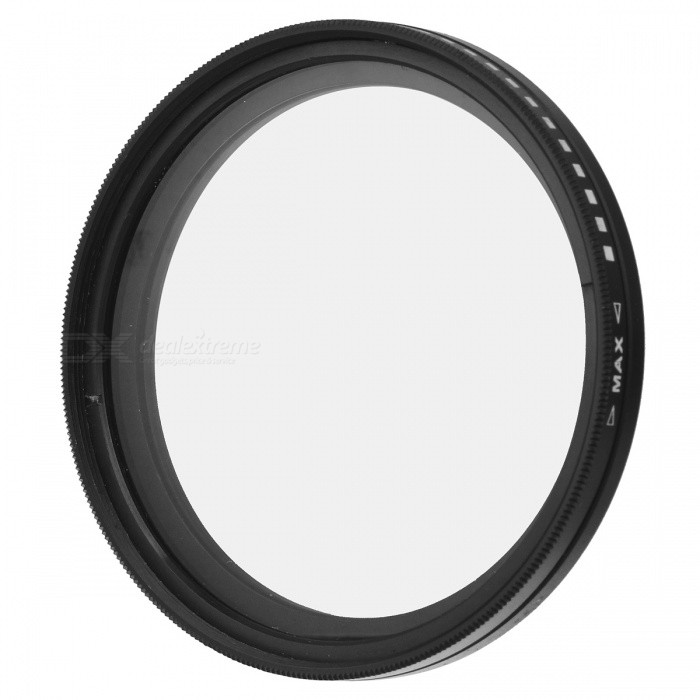 Variable Neutral Density ND2-ND400 Fader ND Filter (58mm) fotga neutral density nd2 nd400 fader nd filter 72mm