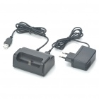 USB Charging Dock Cradle + AC Charger Set for Samsung i9100 Galaxy S2
