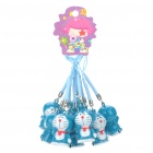 Doraemon Small Bell Cell Phone Straps (10-Pack)