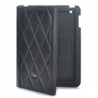 Protective Genuine Leather Case for   Ipad 2 - Black