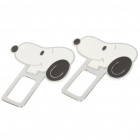 Cute Snoopy Style Safety Seat Belt Buckles - Pair