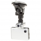 "720P 5MP Dual Lens Car DVR Camcorder w/ HDMI/TF Slot (2.8"" TFT LCD)"