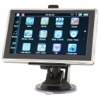 "5.0"" Touch Screen WinCE 5.0 GPS Navigator w/ FM/Bluetooth/AV-In/4GB Europe Maps TF Card"