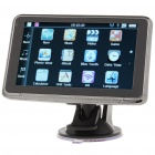 "5.0"" Touch Screen WinCE 6.0 GPS Navigator w/ FM/Bluetooth/AV-In/4GB Europe Maps TF Card"