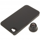 Detachable 180-Degree Wide Angle Fish Eye Lens for Iphone 4