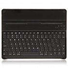 USB Rechargeable Bluetooth V2.0 Aluminum Alloy Cover 84-Key Keyboard for iPad 2 - Silver + Black