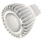 Convex Lens MR16 3W 7000K 160-Lumen Cree LED White Light Bulb (12V)