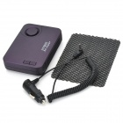 Car Cigarette Lighter Powered Anion Ozone Generator Air Purifier Cleaner - Dark Purple