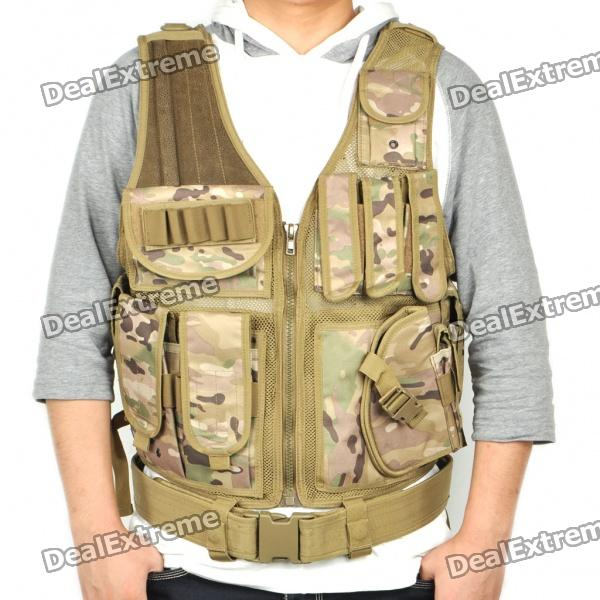 UTG Tactical Military Vest - Multicam