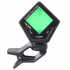 "1.2"" LCD Clip-On Guitar Chromatic Tuner with Green Backlit (1xCR2032)"