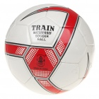 High Quality PU Football Soccer - White + Red