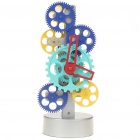 Desktop Table Gear Mechanical Clock (Multi-Color)
