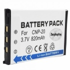 Replacement NP-20 Rechargeable Li-ion Battery for Casio EX-S1 / S2 / Z1 + More