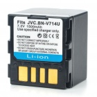 Replacement BN-VF714 Rechargeable Li-ion Battery for JVC D250/D270 + More