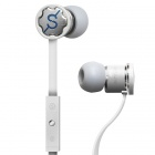 MPINS FITS In-Ear Stereo Headphones w/ Microphone & Volume Control for iPad/iPod/iPhone - White