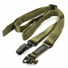 MAGPUL MS2 Multi-function Tactical Single/Two-Point Gun Sling with Alloy Mount - Army Green