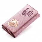 Nettes Hallo Kitty lila Portemonnaie mit Spiegel - Purple