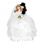 Mini Wedding Couple Pillow for Decoration
