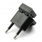Compact Battery Charging Dock with EU Plug Adapter for Blackberry 9900/9930 - Black (US Plug)
