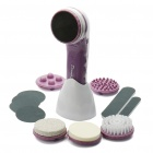 Home Spa Body Treatment System Hair/Aging Skin Removal Set - Purple + White