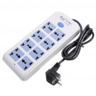 Voice Activated GSM DualBand SIM Spying Bug Disguised as Working AC Power Strip (EU Plug)