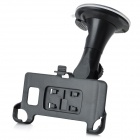 Car Swivel Suction Cup Mount Holder w/ Car Charger/USB Cable for Samsung i9100 (DC 11~30V)