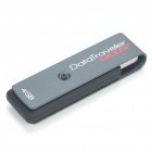 Genuine Kingston DataTraveler Locker + USB Flash Drive - Grey (4GB)
