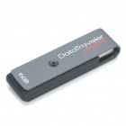 Genuine Kingston DataTraveler Locker + USB Flash Drive - Grey (16GB)