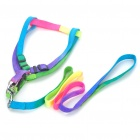 Colorful Adjustable Shoulder Strap Dog Leash (Size-L/150cm-Length)