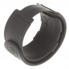 Silicone Wrist Band for Ipod Nano - Black