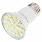 E27 4.2W 6500K 336-Lumen 21x5050 SMD LED White Light Bulb (85~265V)