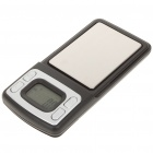 "Portable 1.1"" LCD Digital Pocket Scale - 500g/0.1g (2 x CR2032)"