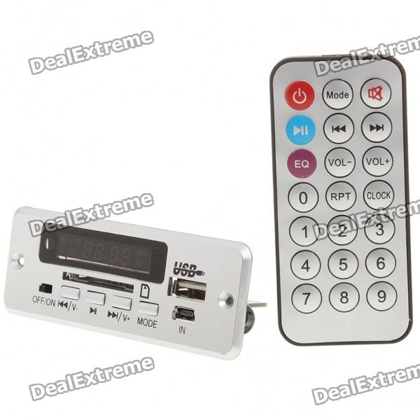 1.5 LED MP3 Player Module with Remote Controller/FM/USB/SD (3.7V)