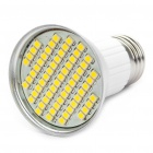 E27 4.5W 3500K 240-Lumen 60x3528 SMD LED Warm White Light Bulb (85 ~ 265V)