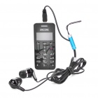 "MinIpad-A9 1"" LCD Bluetooth Dialer Headset - Black"