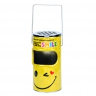 Cool Mini Trash Can with Ashtray - Yellow