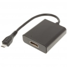 Micro USB Male to HDMI Female Adapter Cable