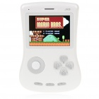 "JXD 100 2.8"" LCD Game Console Media Player w/ Camera/TF/Mini USB/AV-Out/3.5mm Jack - White (4GB)"