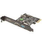 ORICO PCI-E USB 3.0 + eSATA Dual-interface High-speed Express Card - Black