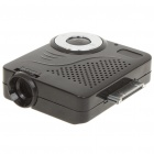 Innovative Compact Portable Mini Projector for iPhone/iPad/iPod Touch - Black